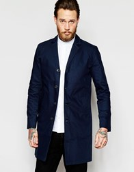 Minimum Trench Coat Navy Blazer