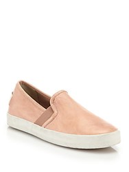 Frye Dylan Suede Slip On Sneakers Cement
