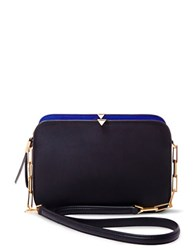 Brian Atwood Zoey Leather Crossbody Black