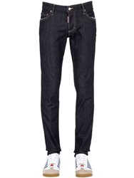 Dsquared 18Cm Slim Fit Brut Stretch Denim Jeans
