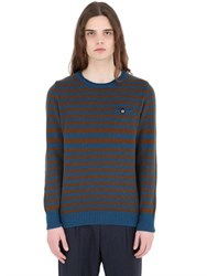 Bob Strollers Striped Wool Sweater