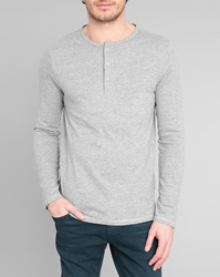 Menlook Label Don Flecked Grey T Shirt