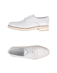Lace Up Shoes White
