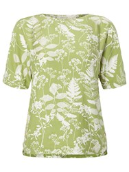 White Stuff Chive Top Lily Green