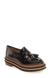 Shellys Women's London 'Kerena' Tassel Platform Loafer
