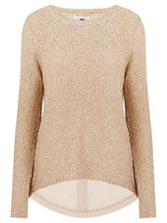Nougat London Sequin Jumper Brown