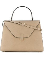 Valextra Large 'Iside' Tote Nude And Neutrals