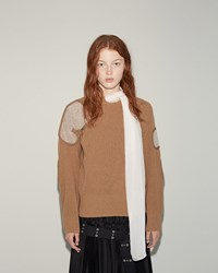 Sacai Lambswool Pullover Camel