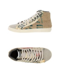 Springa High Tops And Trainers Beige