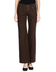 James Perse Casual Pants Dark Brown