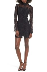 Stone_Cold_Fox Women's Stone Cold Fox Kerr Lace Minidress