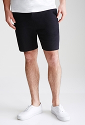 Forever 21 French Terry Sweatshorts Black