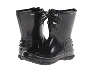 Bogs Urban Farmer 2 Eye Lace Black Women's Work Boots