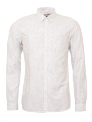 Garcia Cotton Shirt With Chest Pocket White