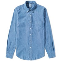 Aspesi Button Down Magra Shirt Blue