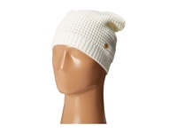 Bcbgeneration Waffle Stitch Solid Slouch Hat Pure White Caps
