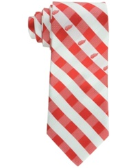 Eagles Wings Detroit Red Wings Checked Tie