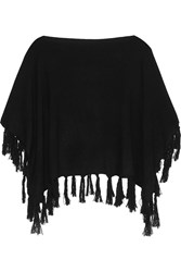 Madeleine Thompson Cashmere Cape Black