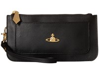 Vivienne Westwood Braccialini Pouch Card And Coin Holder Black Credit Card Wallet