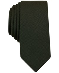 Bar Iii Solid Tie Only At Macy's Olive