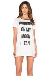 Minkpink Moon Dance Dress White