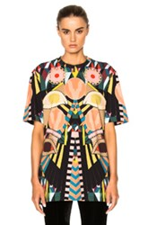 Givenchy Crazy Cleopatra Printed Jersey Tee In Abstract