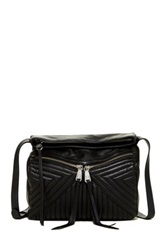 Christopher Kon Quilted Leather Crossbody Black