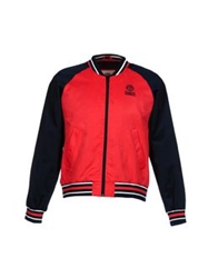 Franklin And Marshall Jackets Coral