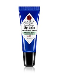 Jack Black Natural Mint And Shea Butter Intense Therapy Lip Balm Spf 25 No Color
