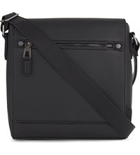 Aldo Hodosy Satchel Black Leather