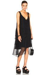 N 21 No. Asymmetrical Dress In Black