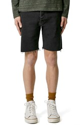 Men's Topman Cutoff Denim Shorts