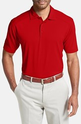 Men's Cutter And Buck 'Genre' Drytec Moisture Wicking Polo Red