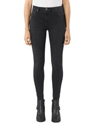 Allsaints Eve Luxe Jeans Washed Black