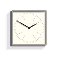 Newgate Clocks Mr Robinson Clock Grey