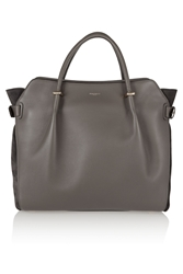 Nina Ricci Marche Medium Leather And Suede Shoulder Bag