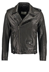 Chevignon Leather Jacket Noir Black