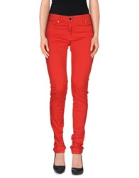 Elisabetta Franchi Jeans Trousers Casual Trousers Women Red
