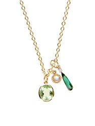 Irene Neuwirth Diamond Moonstone Tourmaline And Gold Necklace