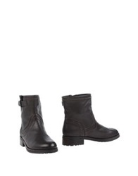 Pennyblack Ankle Boots Dark Brown