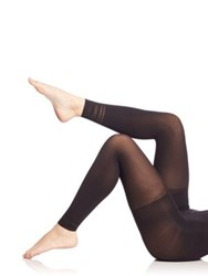 Spanx Floating Lines Footless Tights Very Black