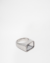 Cheap Monday No Diamond Ring Exclusive To Asos Silver