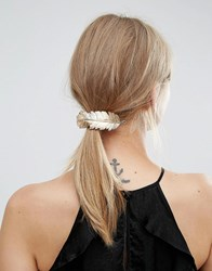 Orelia Large Feather Hair Clip Gold