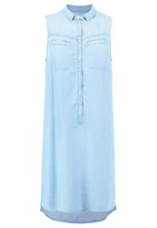 Evenandodd Denim Dress Light Blue
