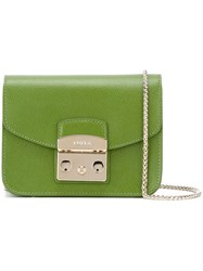 Furla Mini 'Metropolis' Crossbody Bag Green