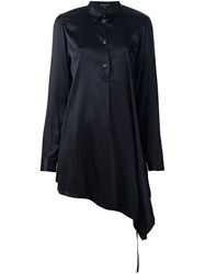 Ann Demeulemeester Long Asymmetric Shirt Black