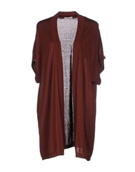 Persona Knitwear Cardigans Women Brown
