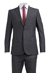 J. Lindeberg J.Lindeberg Hopper P Fancy Suit Almost Black
