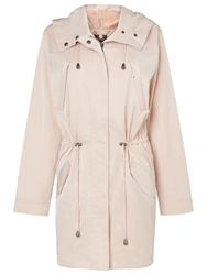 Phase Eight Fernanda Parka Coat Soft Pink
