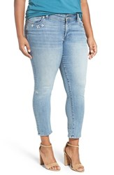 Lucky Brand Plus Size Women's 'Georgia' Distressed Boyfriend Jeans